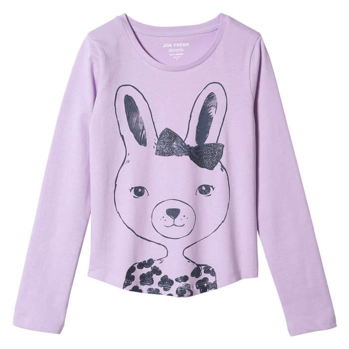 Kid Girls' Essential Print Tee