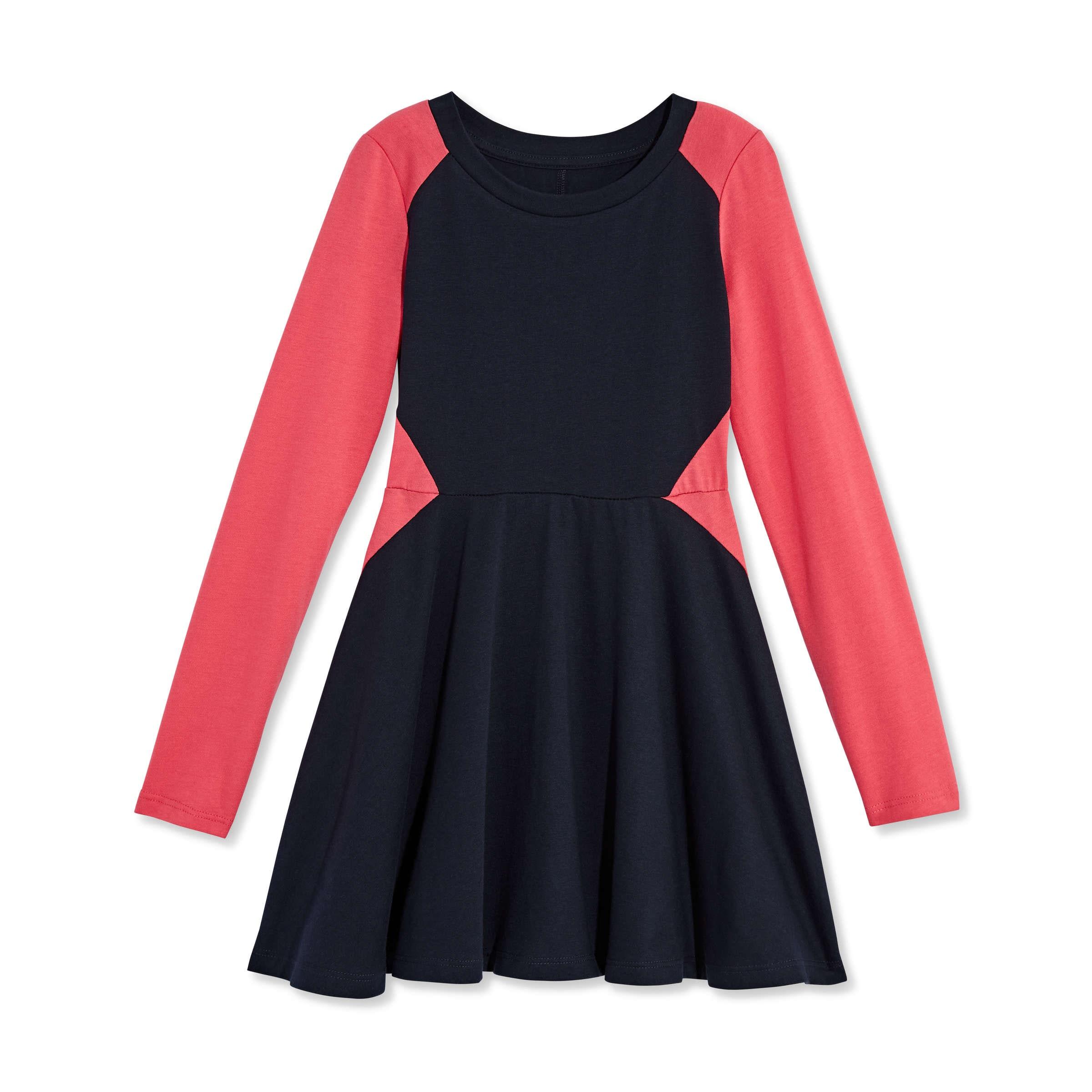 Kid Girls  Skater Dress in JF Midnight Blue from Joe Fresh 656c95cb0