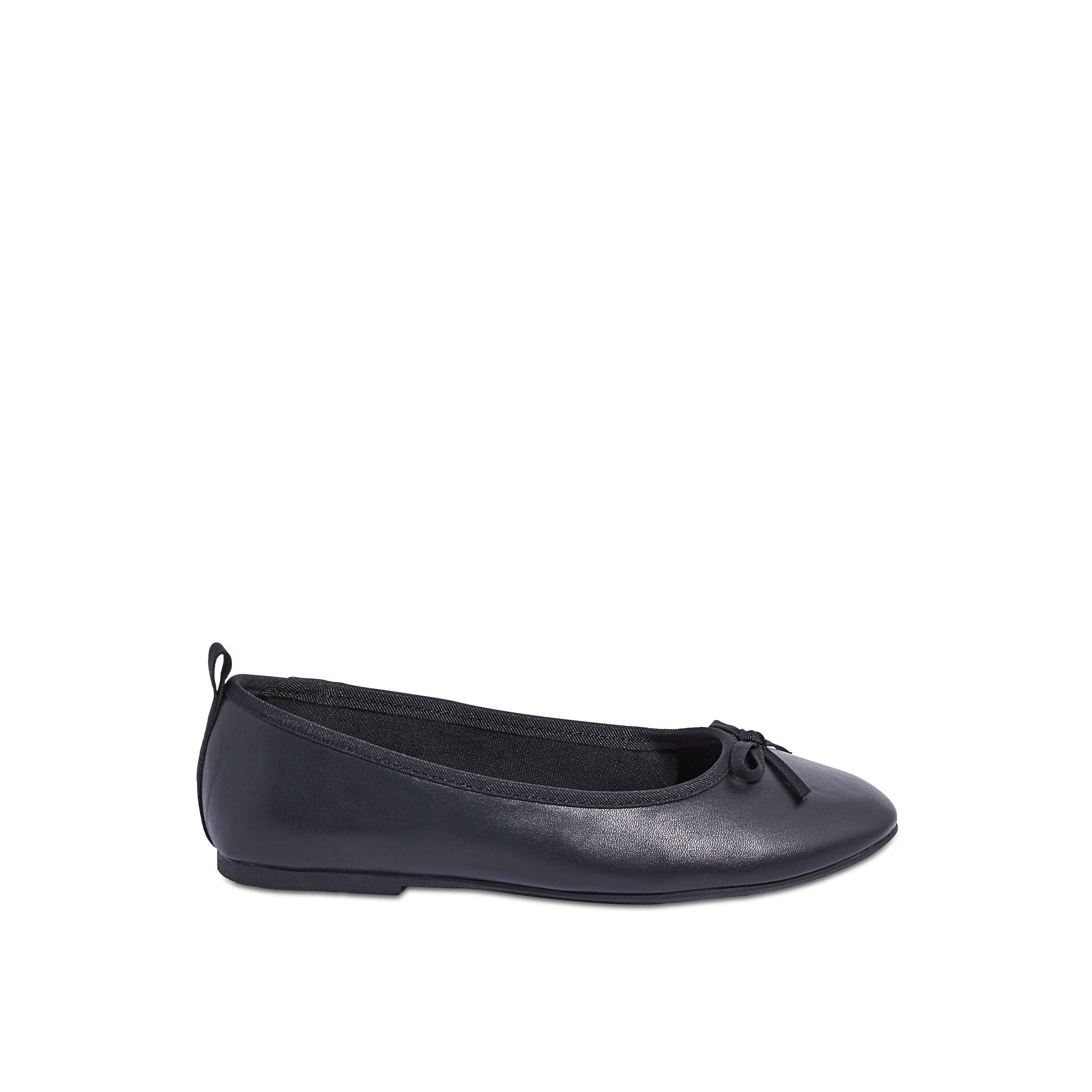Kid Girls' Ballet Flats in Black from