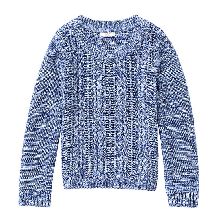 Kid Girls' Knit Pattern Sweater
