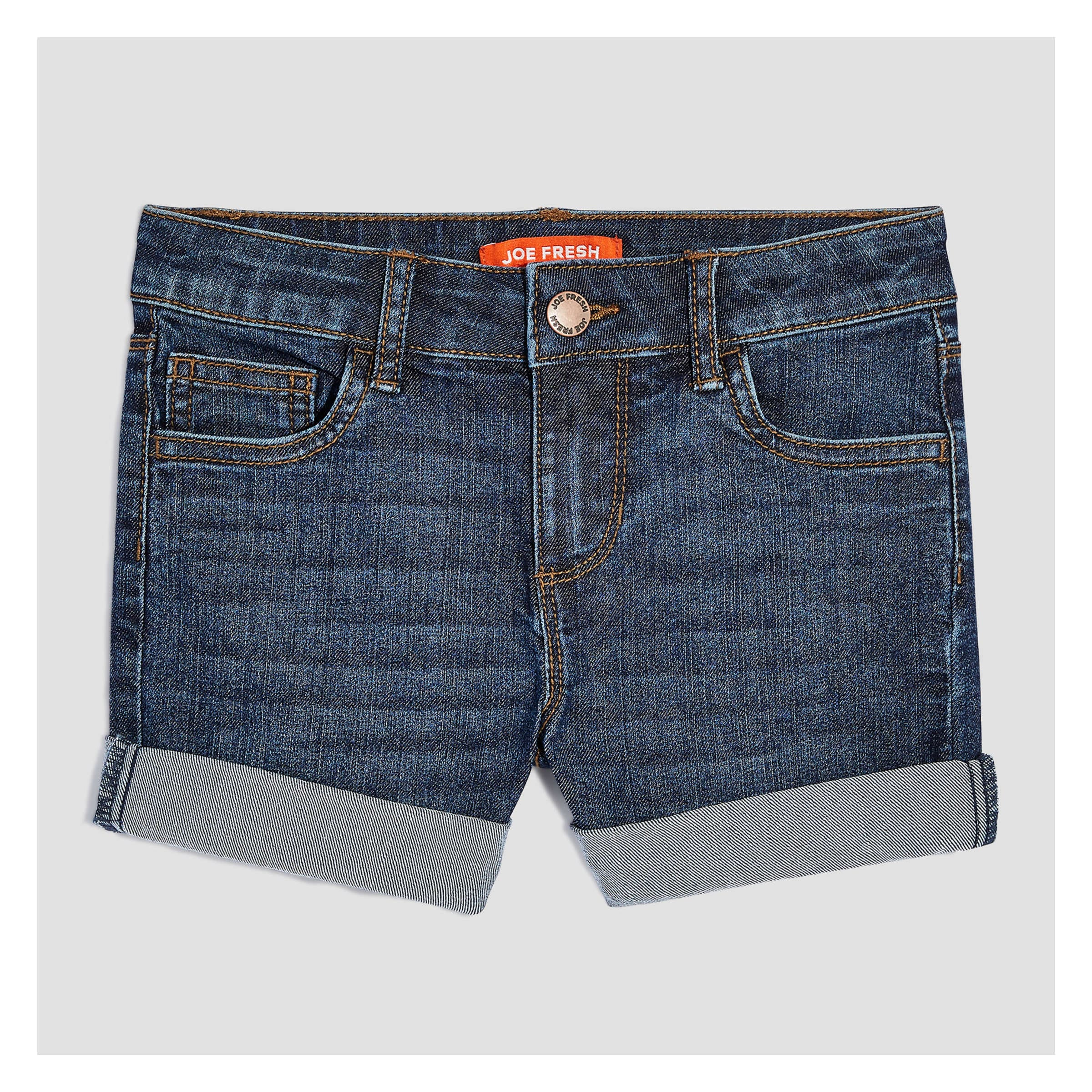 b6ef1b9612 Kid Girls' Denim Shorts in Dark Wash from Joe Fresh