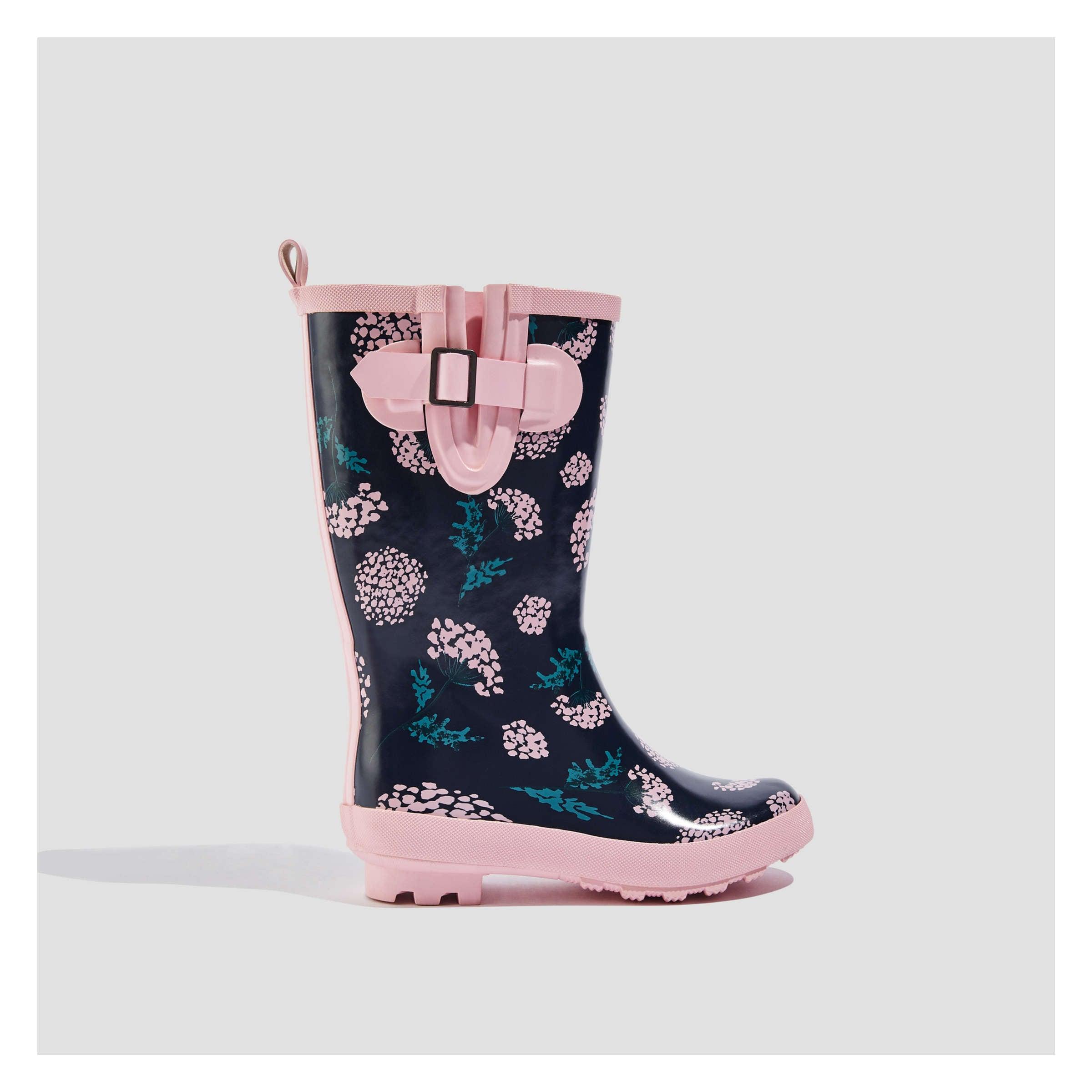 Kid Girls  Buckle Rain Boots in Light Pink from Joe Fresh 6381ab057d47