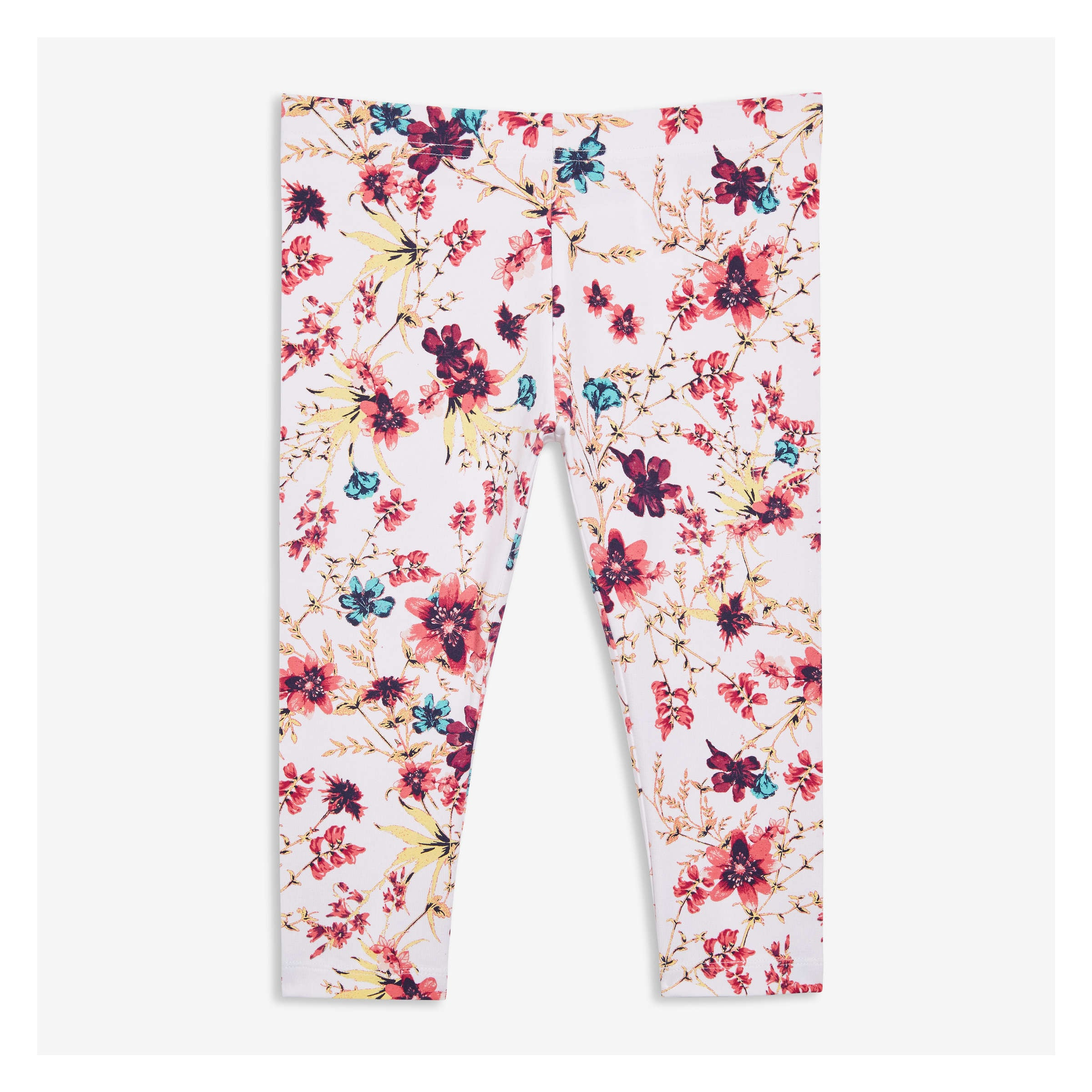 7a5c403dc Kid Girls' Print Capri Legging in White 2 from Joe Fresh