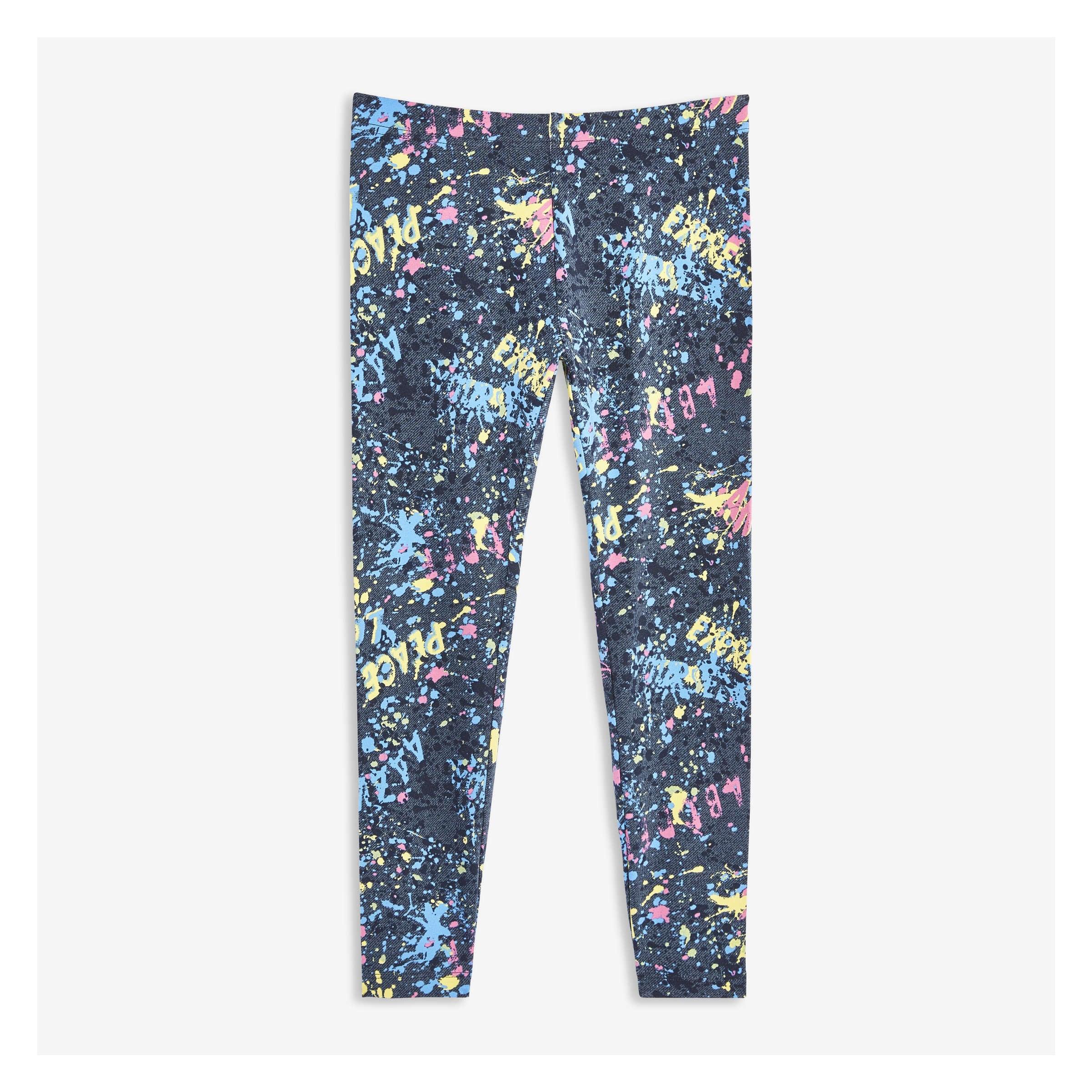 aa698214cca44 Kid Girls' Print Legging in JF Midnight Blue from Joe Fresh