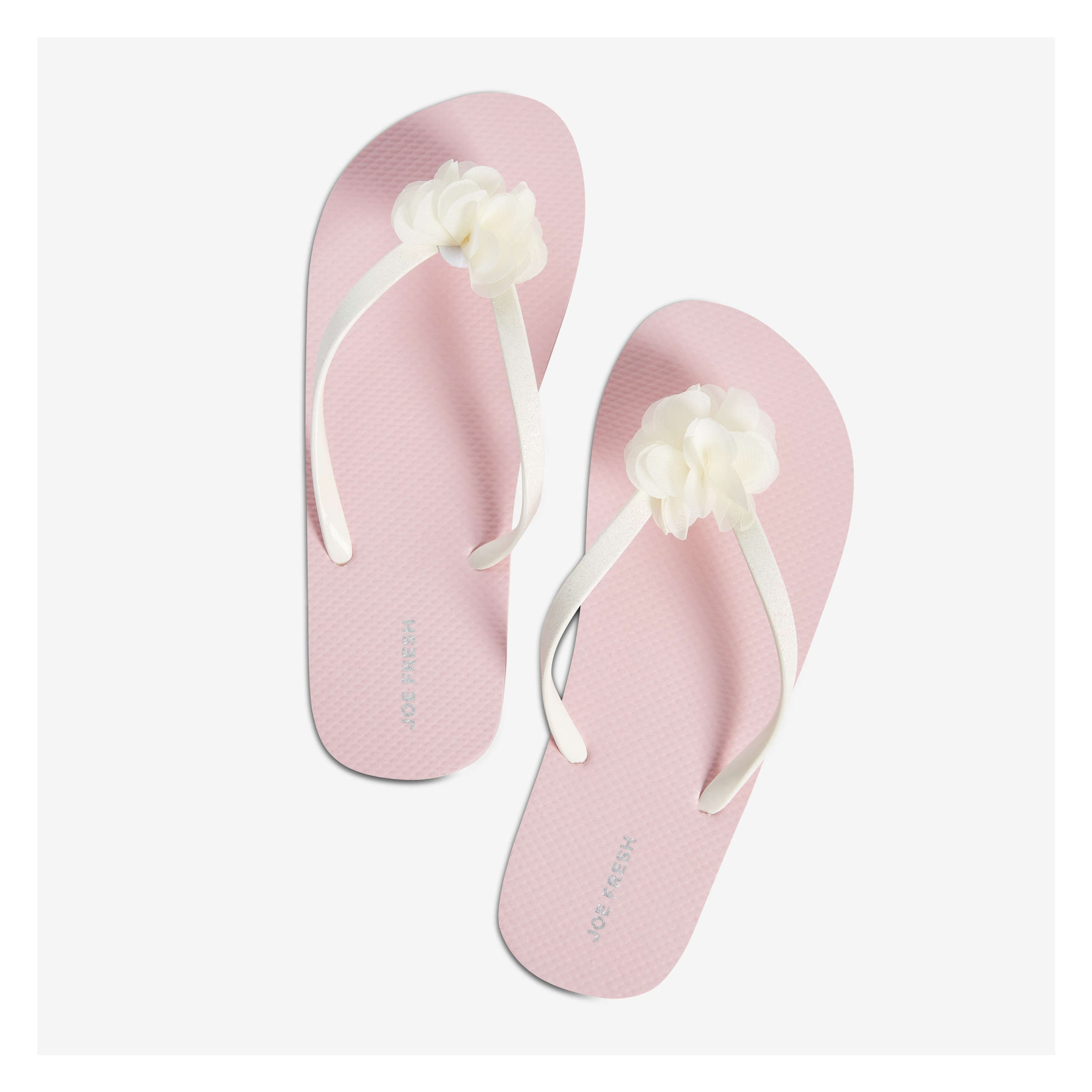 bc0b4d27f8c Kid Girls  Thong Strap Flip Flops in Light Pink from Joe Fresh