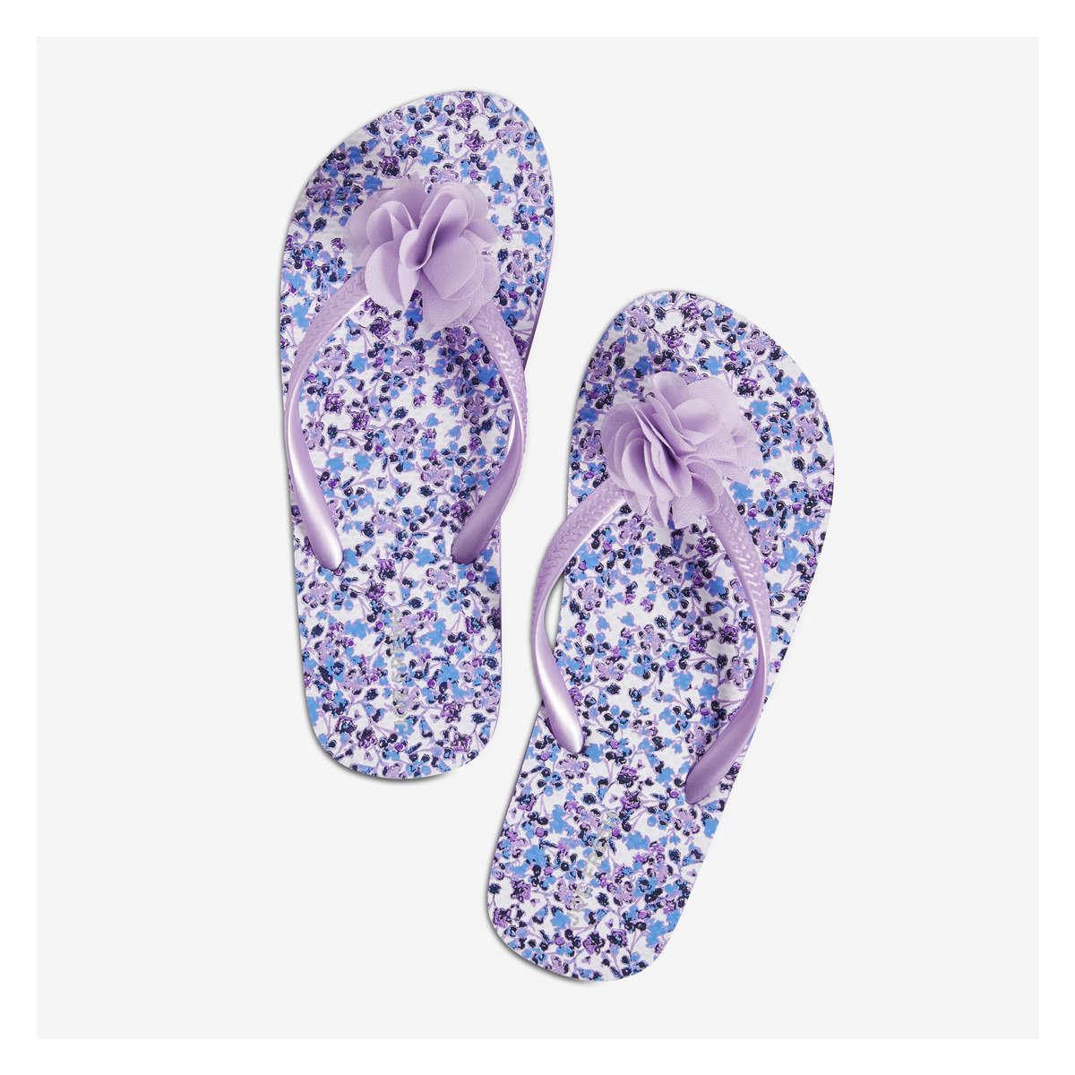 c09158dd697 Kid Girls  Thong Strap Flip Flops in Purple from Joe Fresh