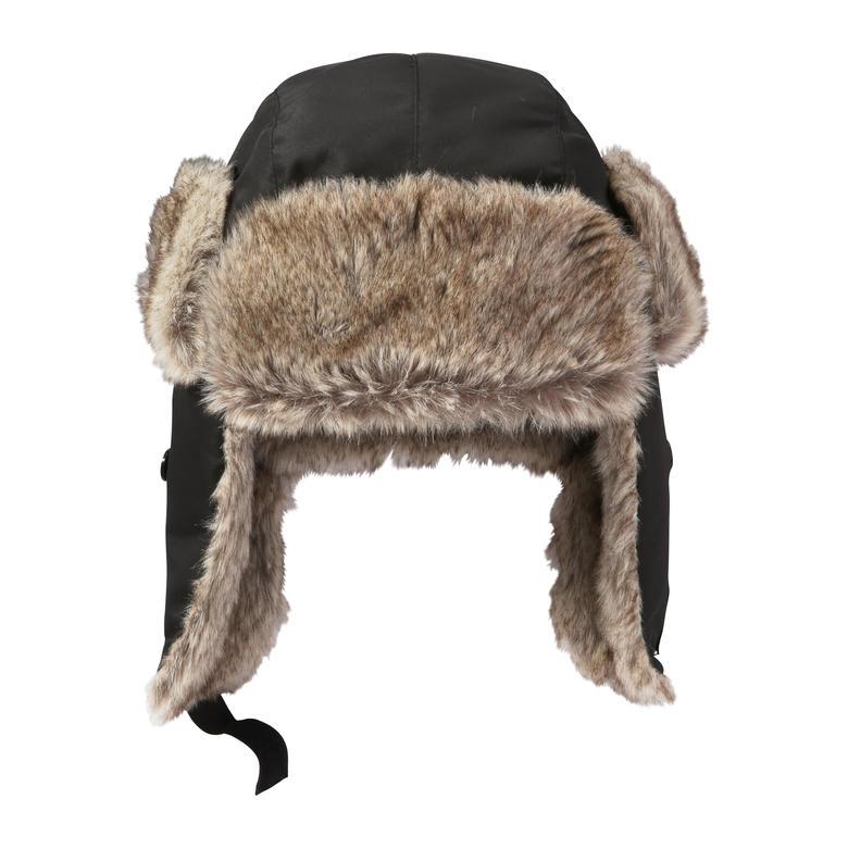 Kid Girls Trapper Hat In Black From Joe Fresh