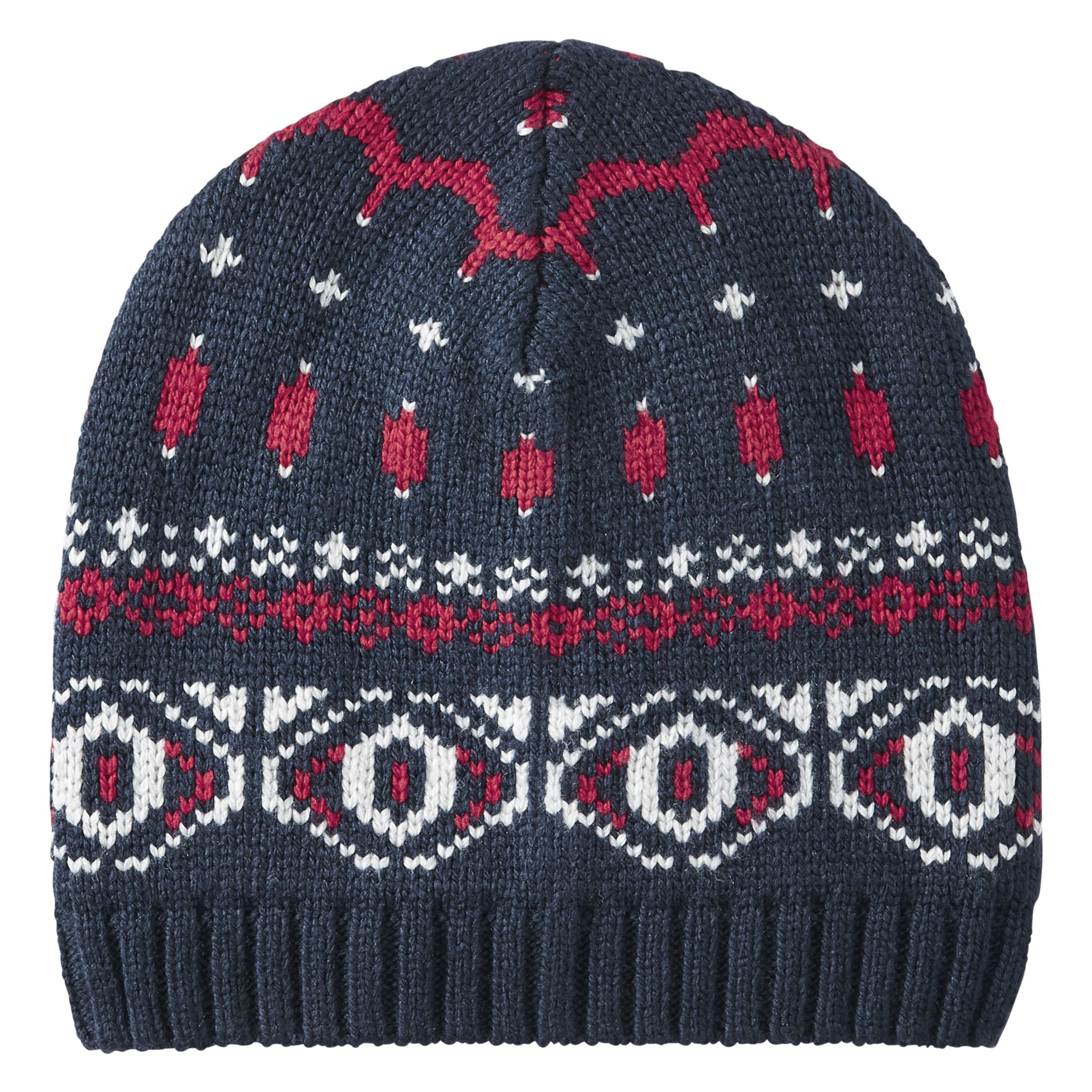 Men\'s Fair Isle Knit Hat in JF Midnight Blue from Joe Fresh