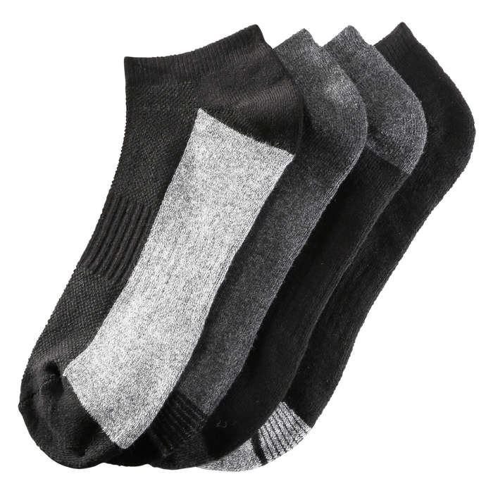 Men's 4 Pack Seamless Toe Sport Socks