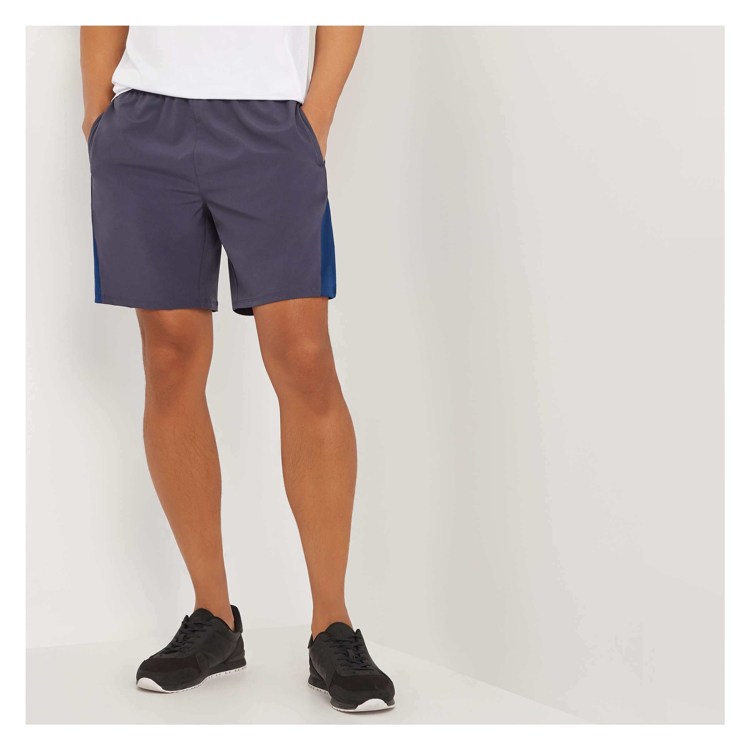 355ce0d11b0a Men's Gym Short with Drawstring Waist in Storm Grey from Joe Fresh