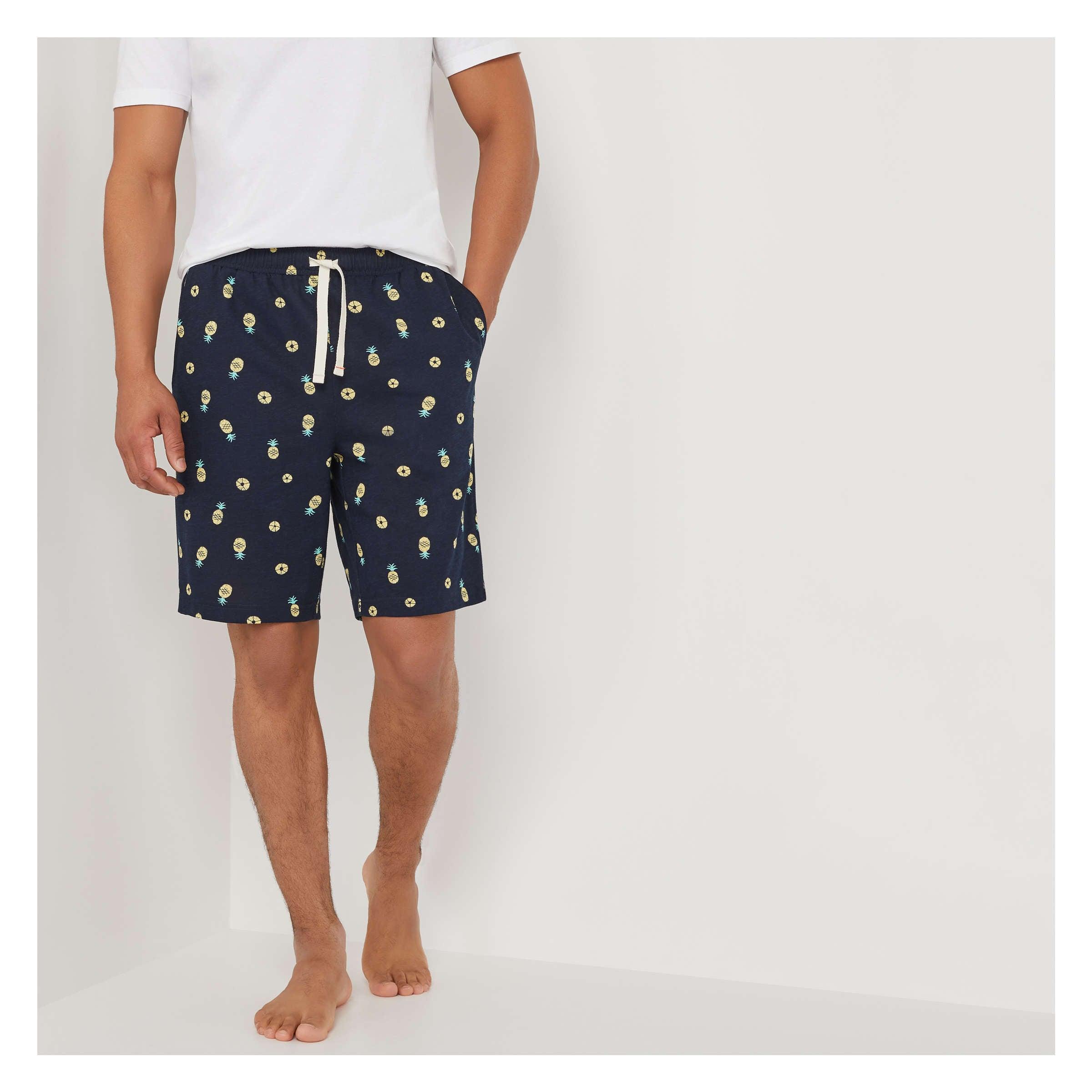 c71750ccff6 Men's Sleep Shorts in JF Midnight Blue from Joe Fresh