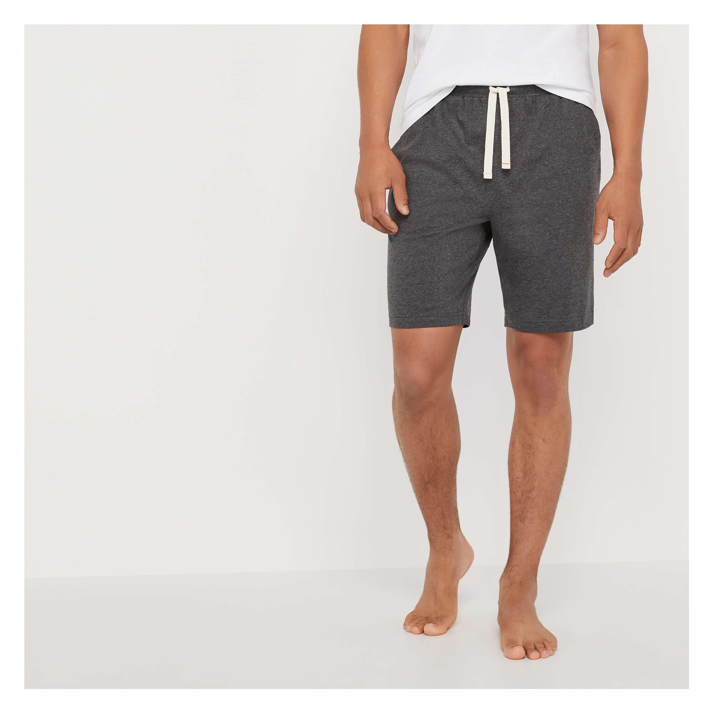 35dbd8e7fab Men's Sleep Shorts in Charcoal Melange from Joe Fresh