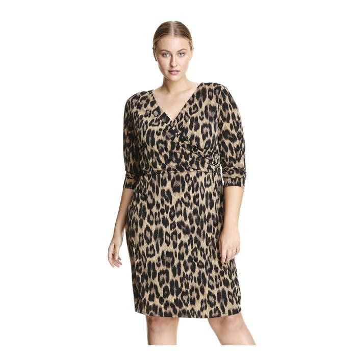 Women+ Print Wrap Dress