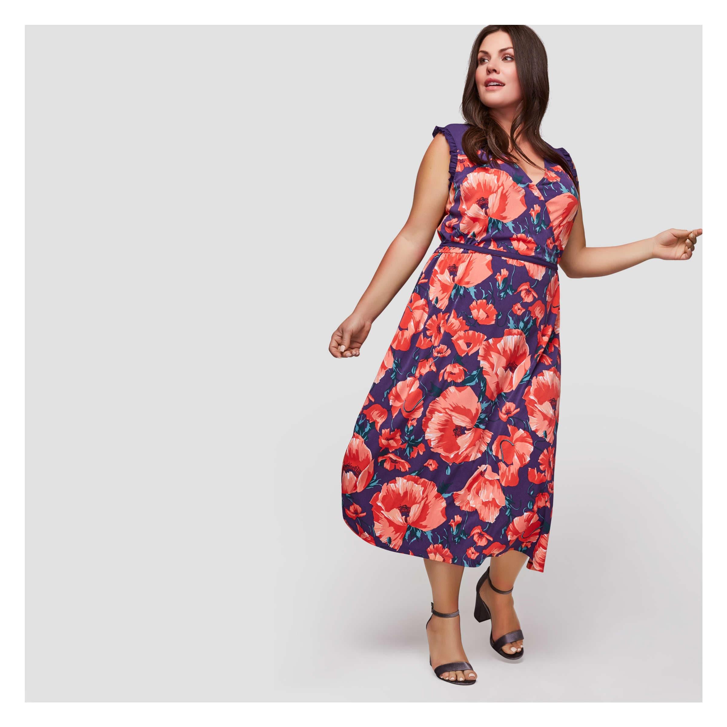dd1da128e91e6 Joe Fresh Women+ Floral Maxi Dress