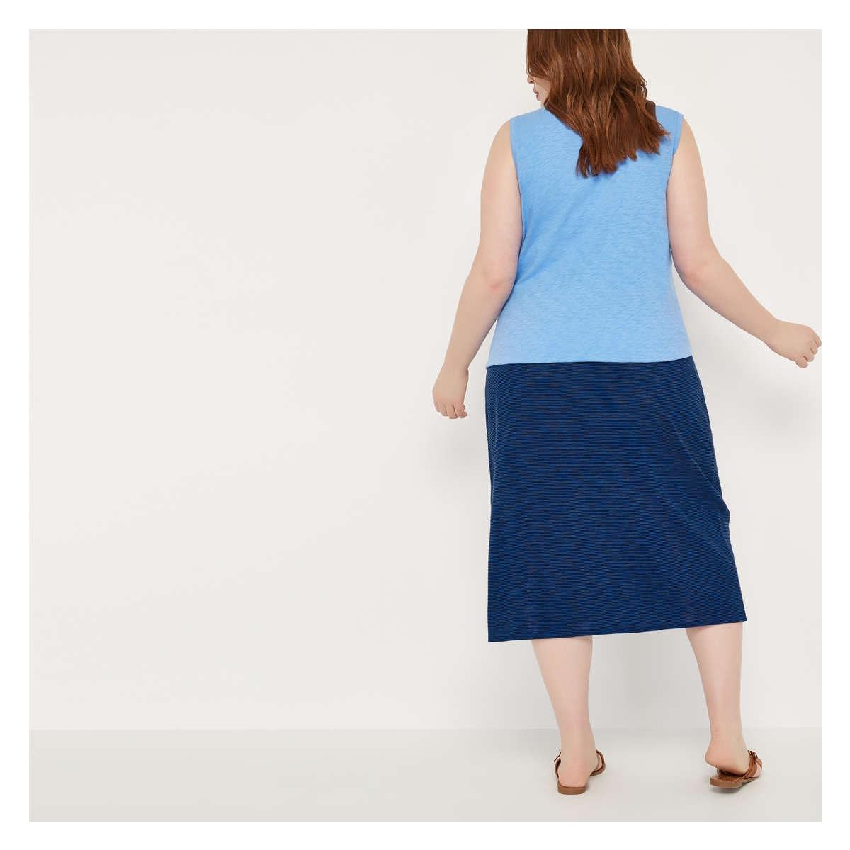 8079906f195a1 Joe Fresh Women+ Stripe Maxi Skirt