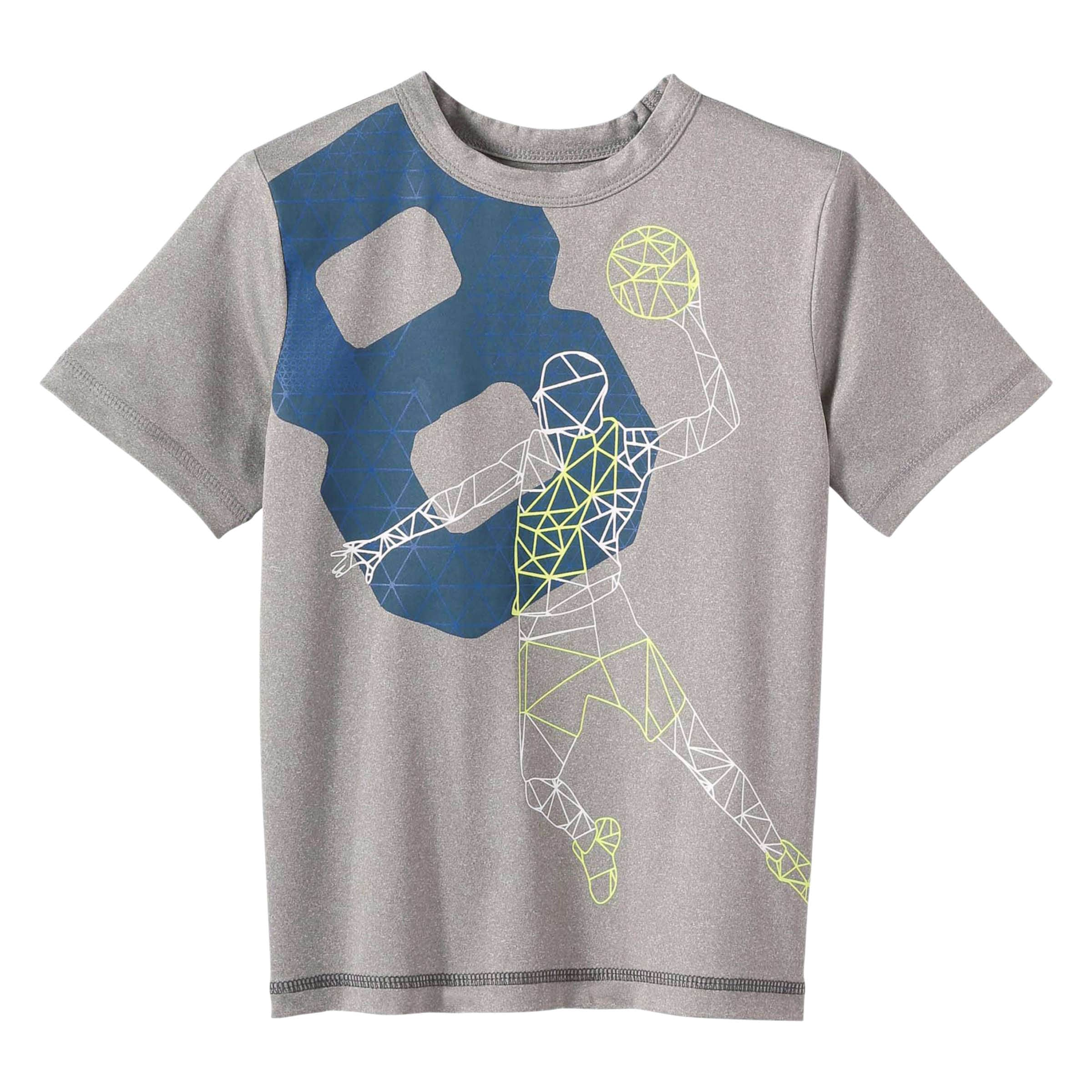 513bfcc5081d4 Toddler Boys  Graphic Crew Neck Tee in Light Grey Mix from Joe Fresh