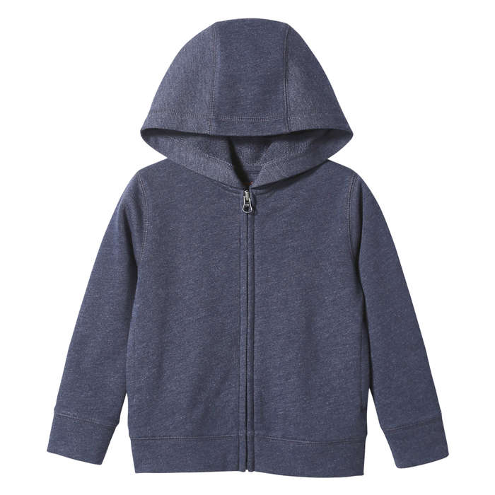 Toddler Boys' Essential Zip Hoodie