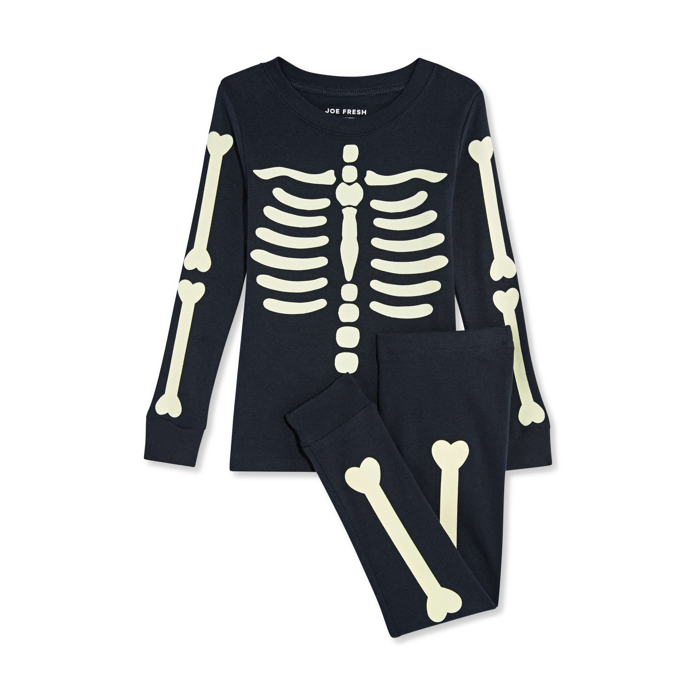 toddler boys' halloween 2 piece sleep set in dark navy from joe fresh