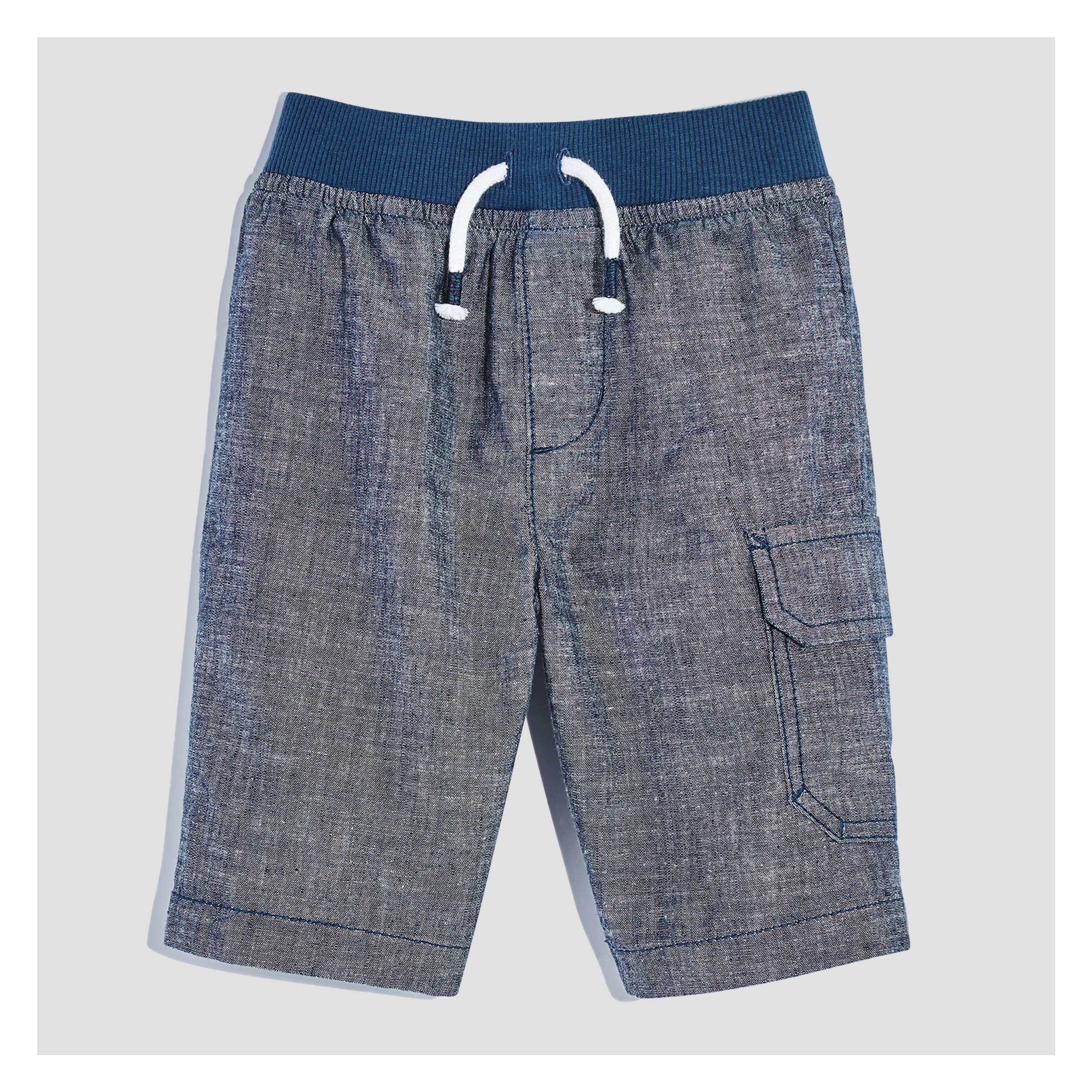 ac38065b2e Toddler Boys' Poplin Shorts in Blue from Joe Fresh