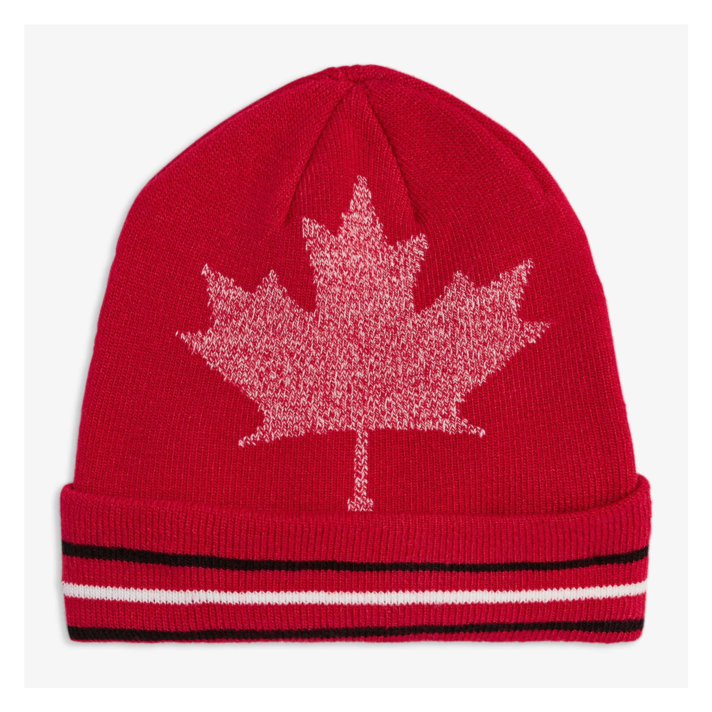 70552ff6371 Toddler Boys  Canada Beanie in Blood Red from Joe Fresh