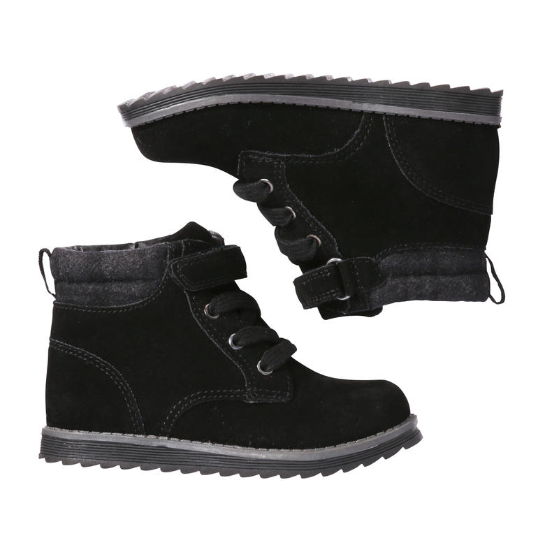 21e68935b Toddler Boys' Lace up Short Boots in Black from Joe Fresh