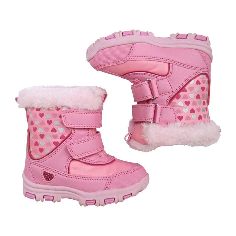 Toddler Girls' Snow Boots in Pink from Joe Fresh