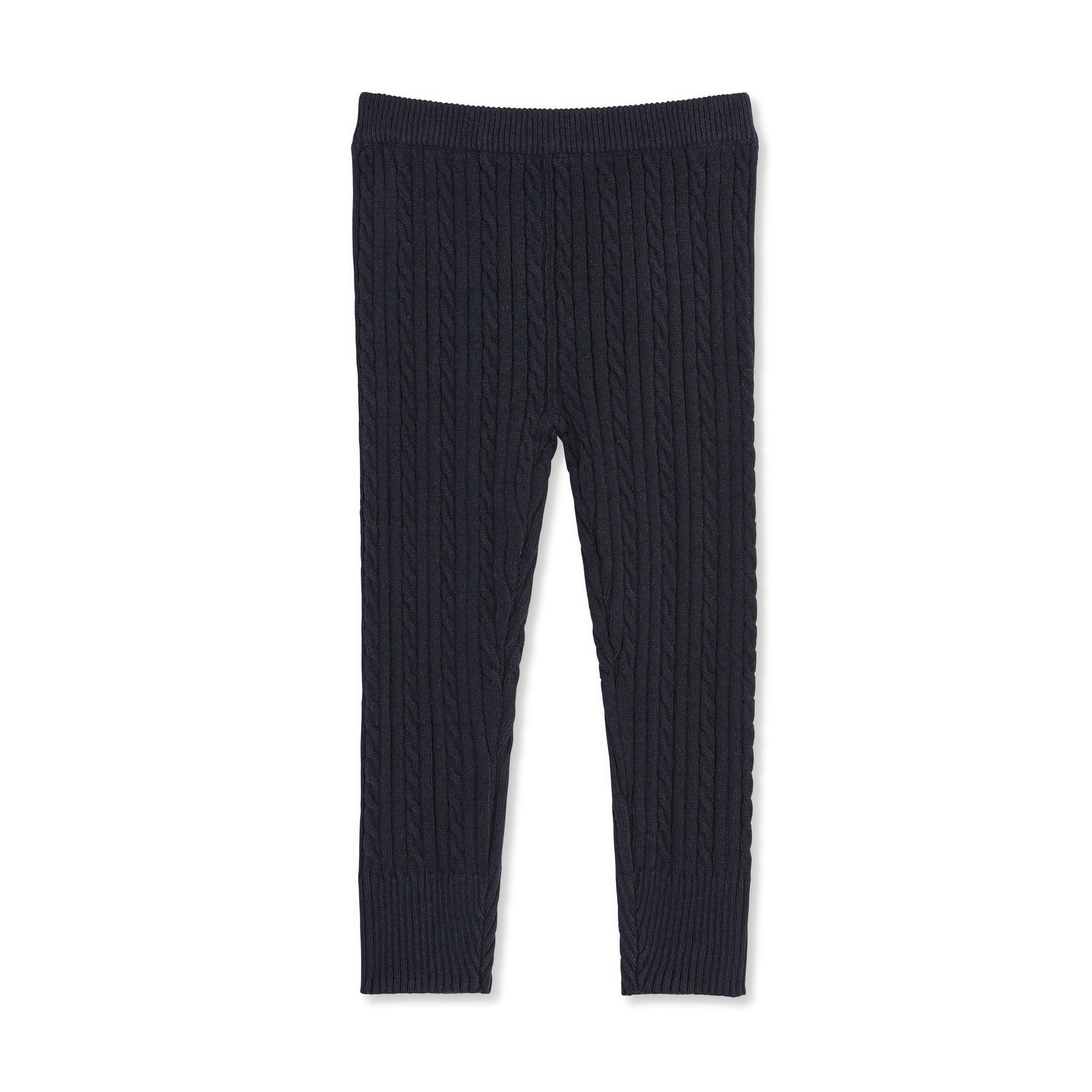 d50b91f468258 Toddler Girls' Cable Knit Legging in JF Midnight Blue from Joe Fresh