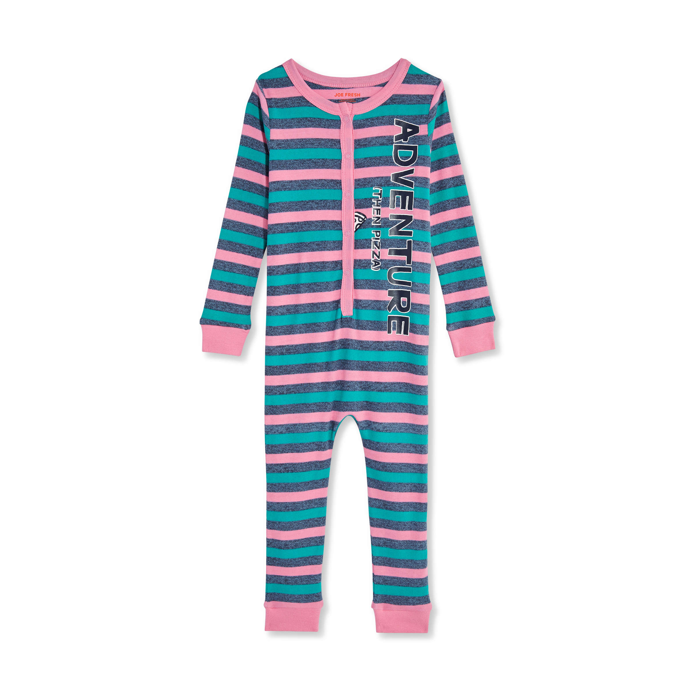 7066392b96c6 Toddler Girls  Long Sleeve Sleeper in Pink from Joe Fresh