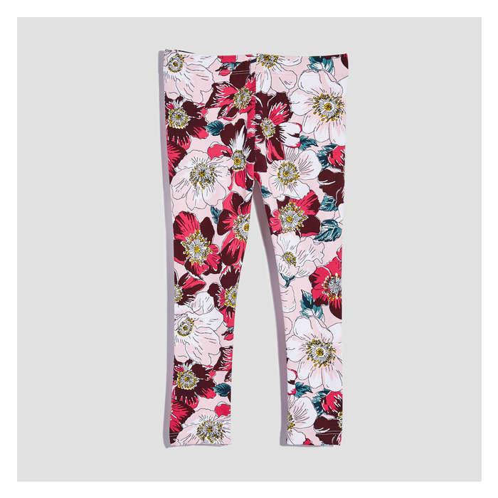 906621b9f40eef Toddler Girls' Essential Print Legging in JF Perennial Pink from Joe ...