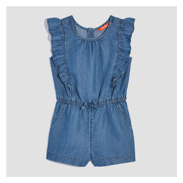 Toddler Girls' Ruffled Tencel® Romper