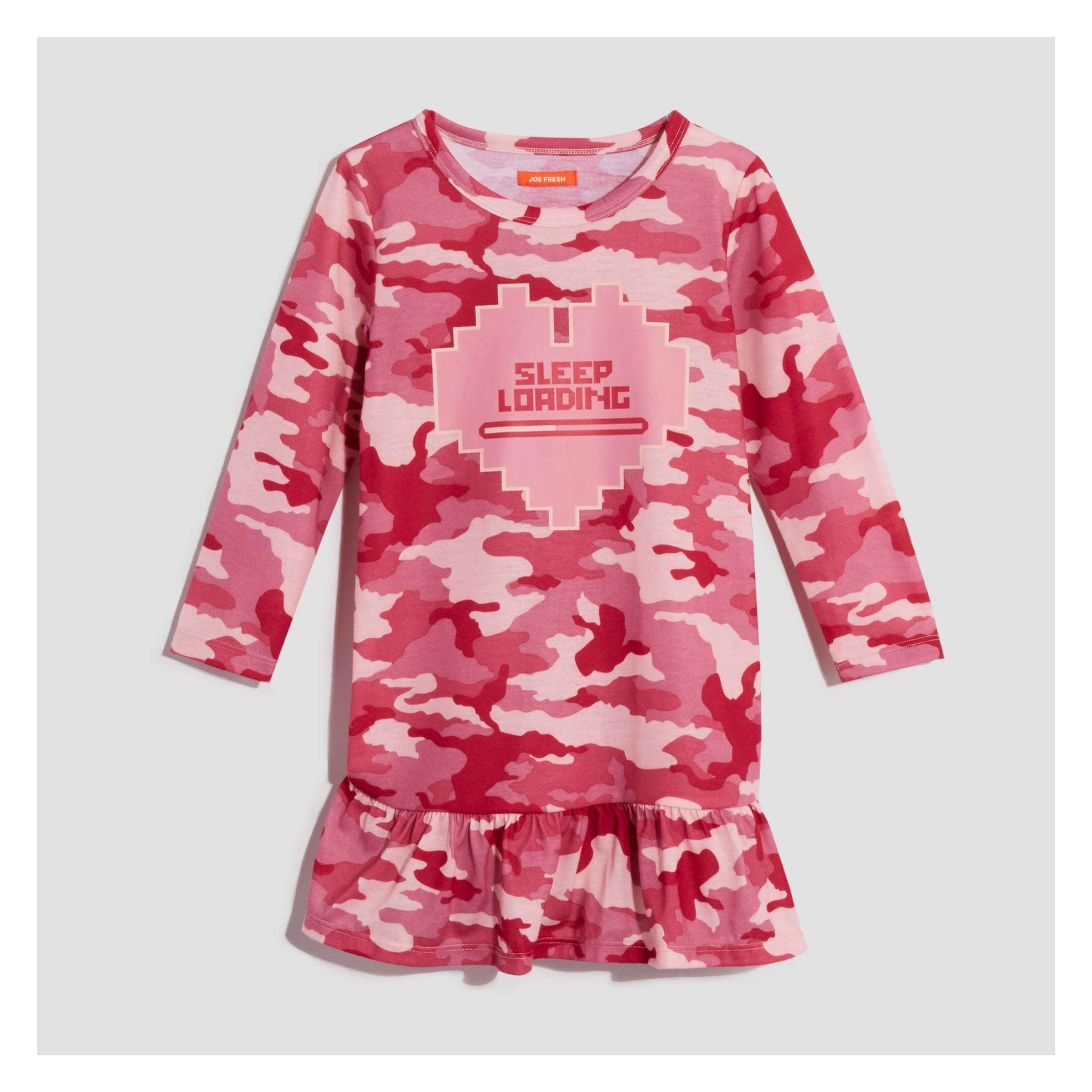 0b4944140b98ce Toddler Girls' Nightie in JF Perennial Pink from Joe Fresh