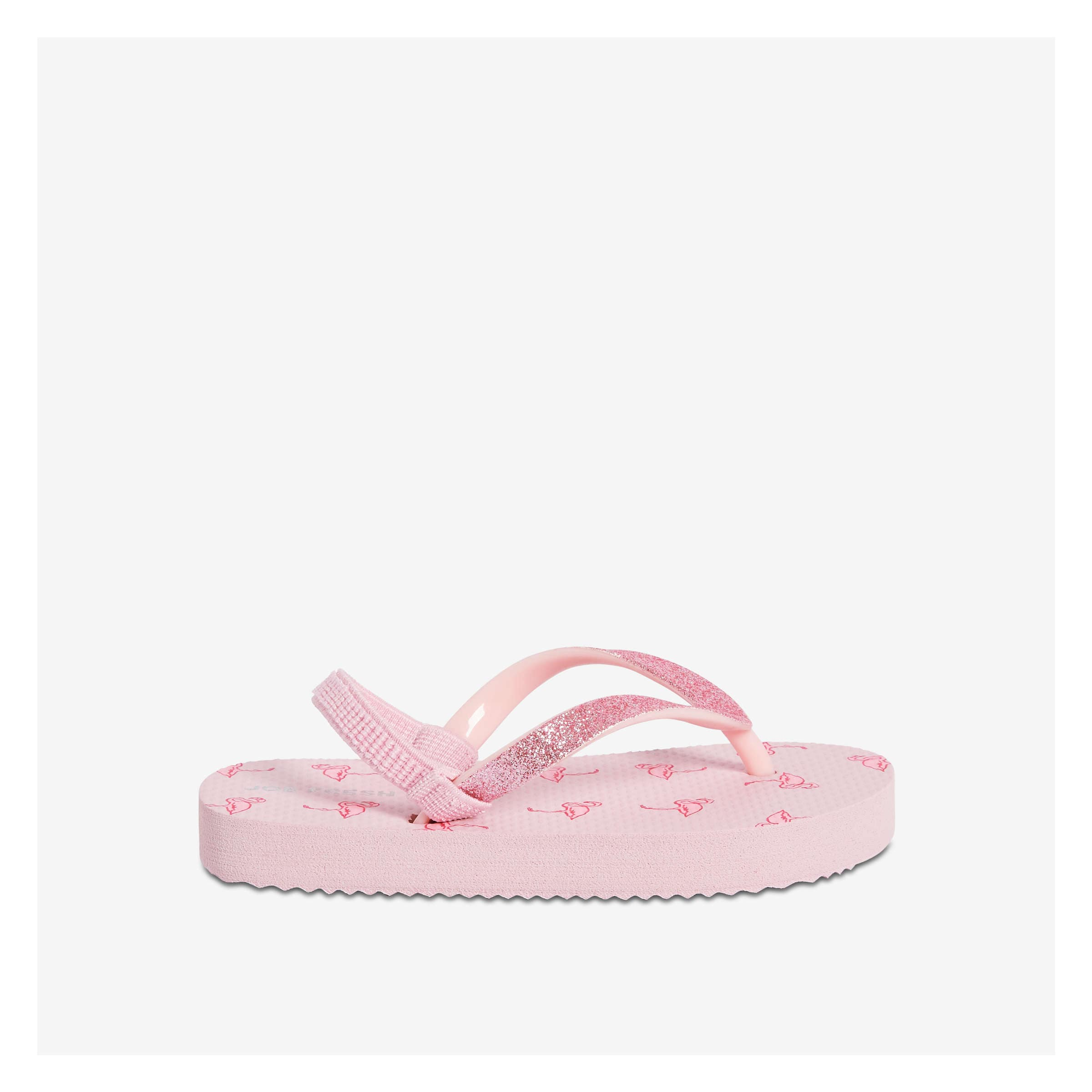 1ca09a32ada4 Toddler Girls  Ankle Strap Flip Flops in Light Pink from Joe Fresh
