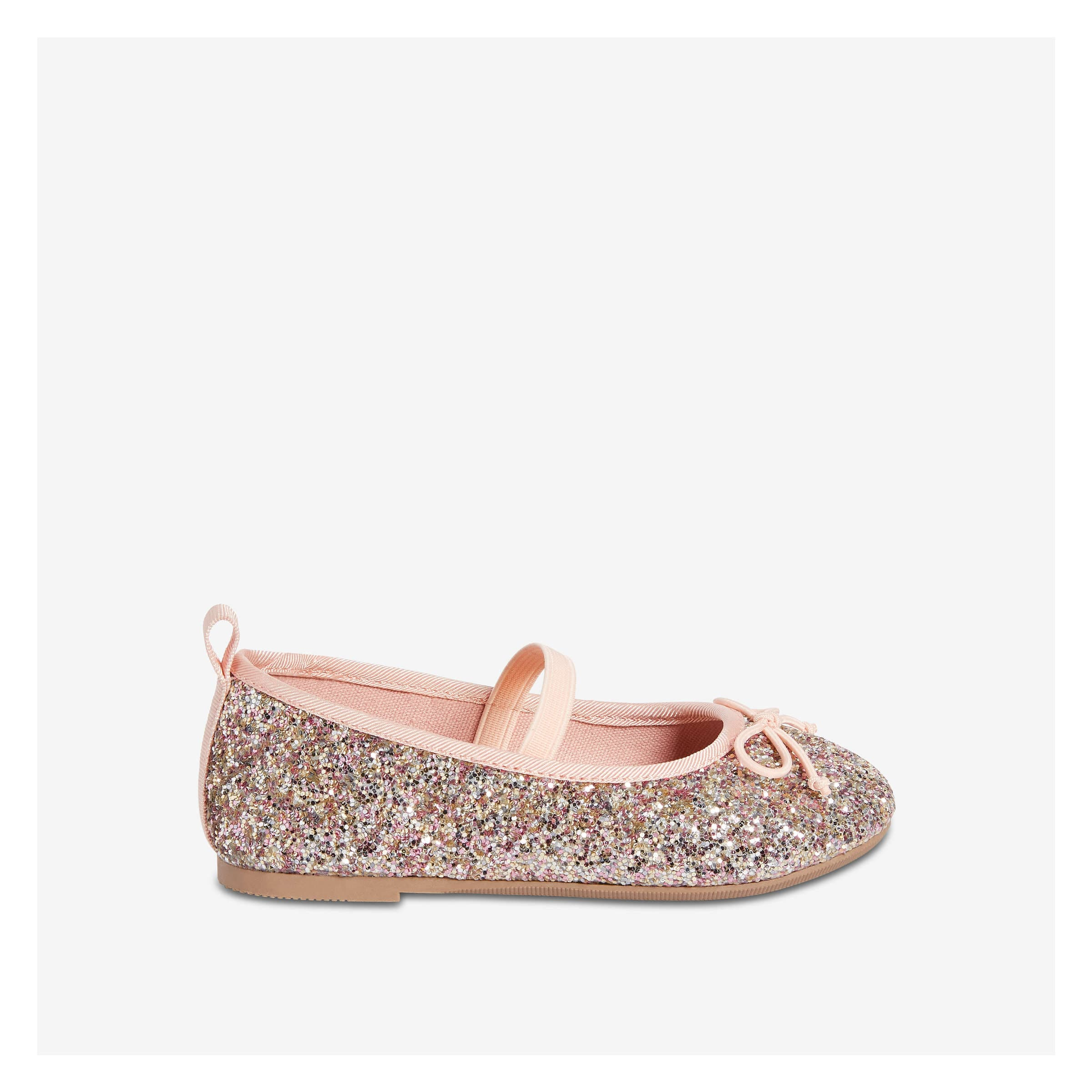 96823d65b Toddler Girls  Glitter Ballet Flat in Pink from Joe Fresh