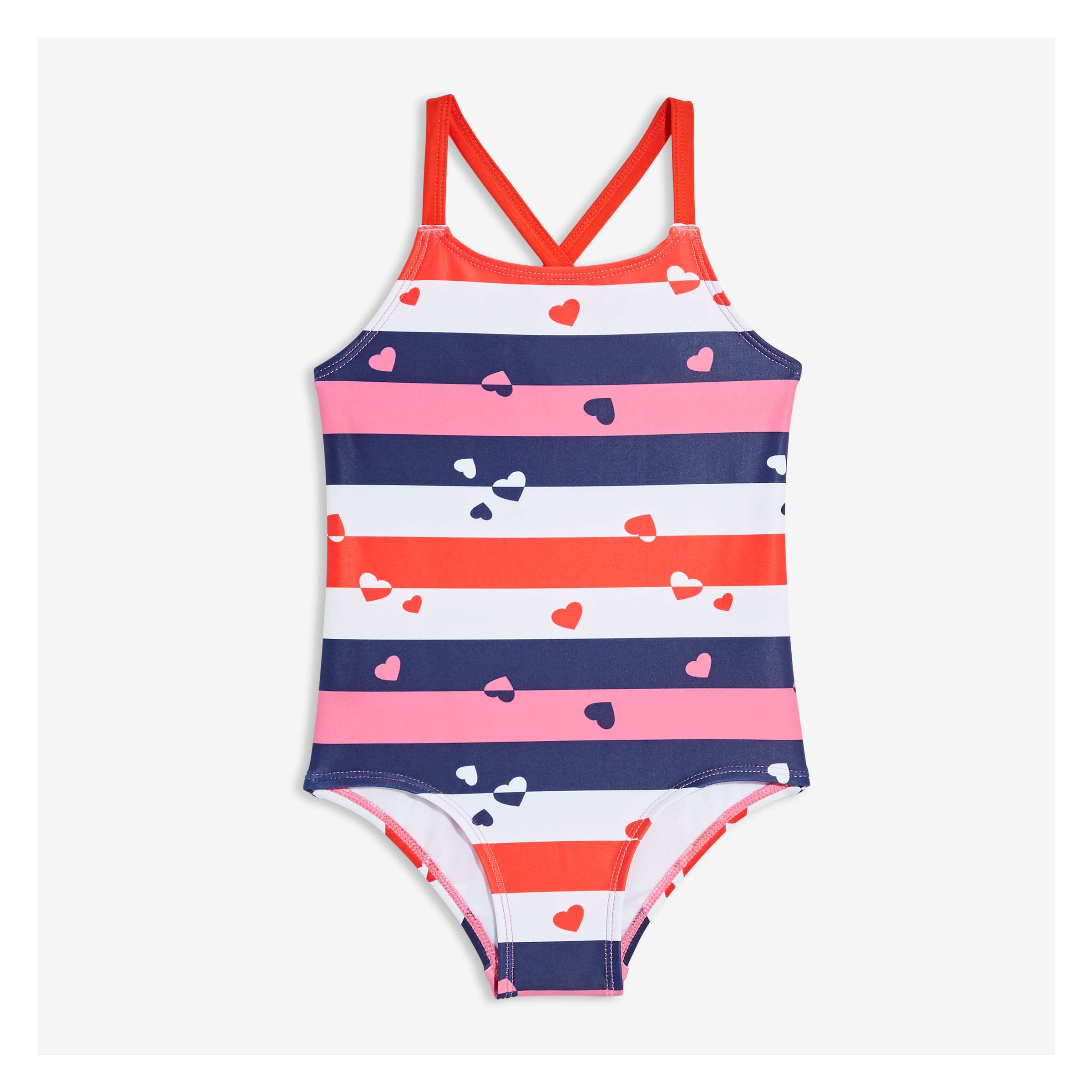 17f13c69e67b6 Toddler Girls' One Piece Swimsuit in Red from Joe Fresh