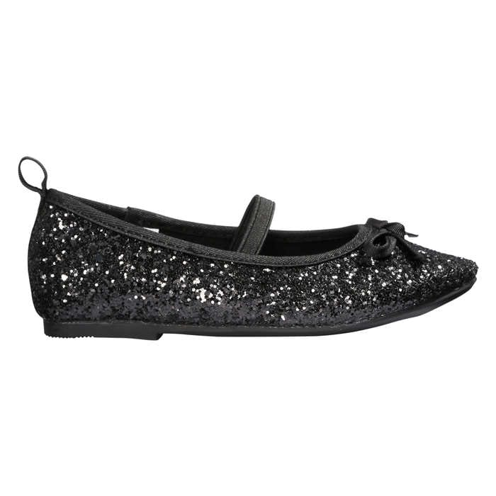 b20bfdb22 Toddler Girls  Sequin Ballerina Flats in Black from Joe Fresh