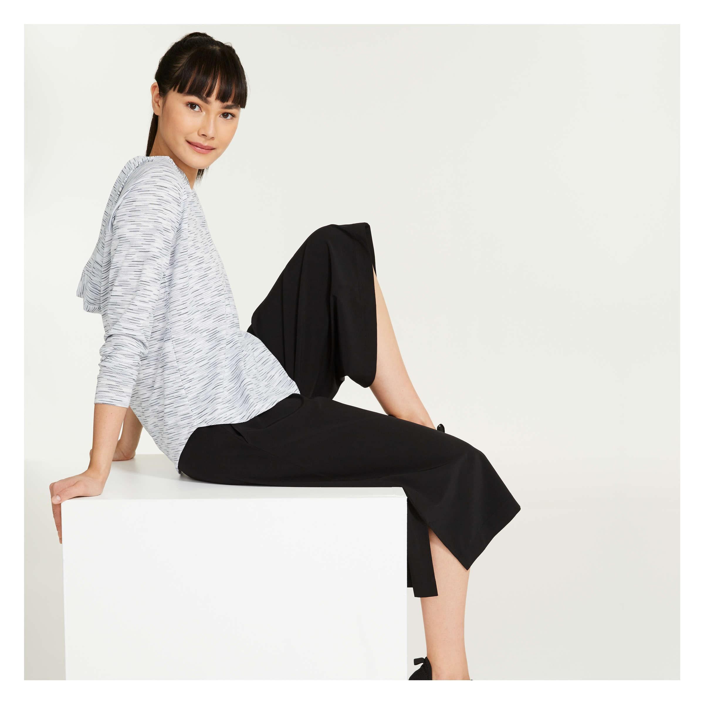Stretch Culotte Pants