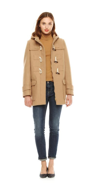 Ladies camel duffle coat – New Fashion Photo Blog