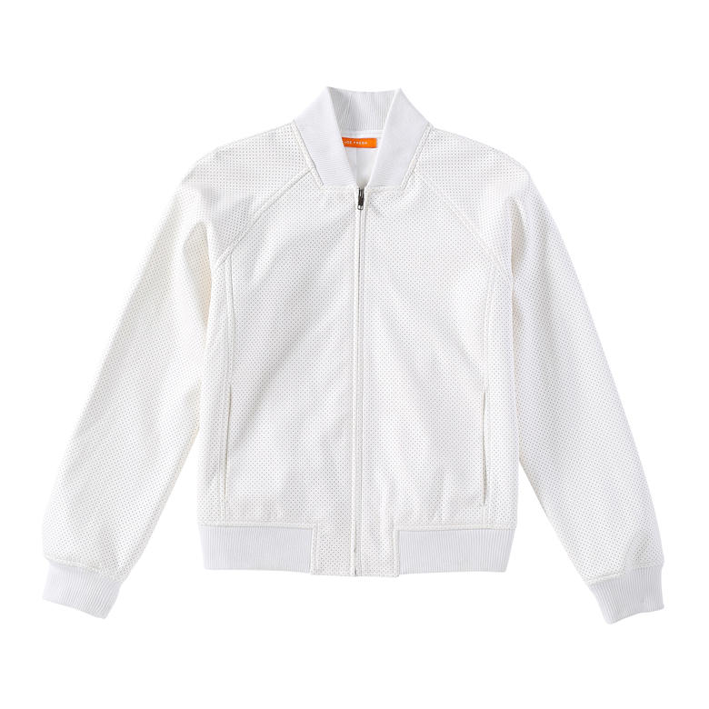 Womens White Bomber Jacket Jacketin