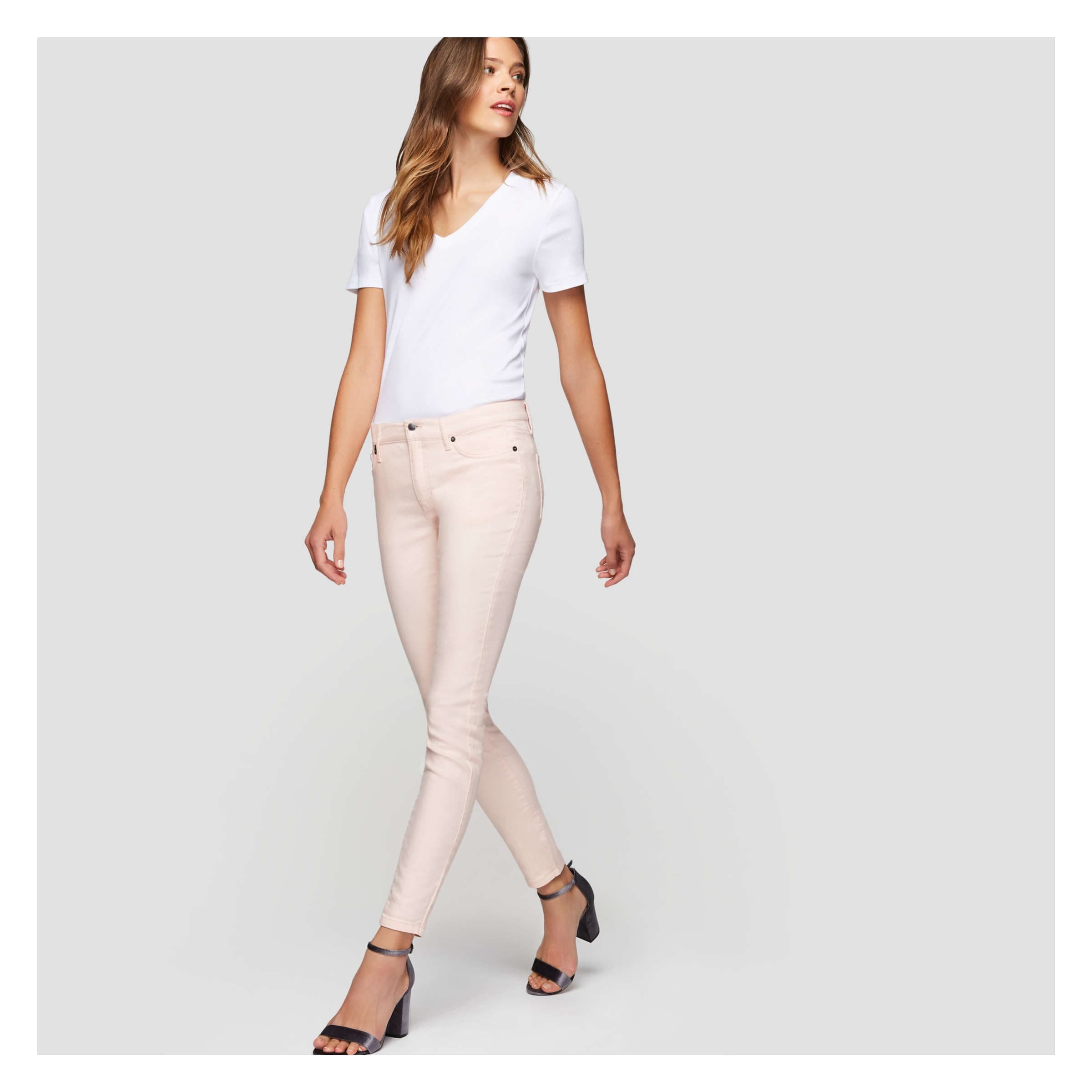 newest df28b ccefc Twill Pant in Pastel Pink from Joe Fresh
