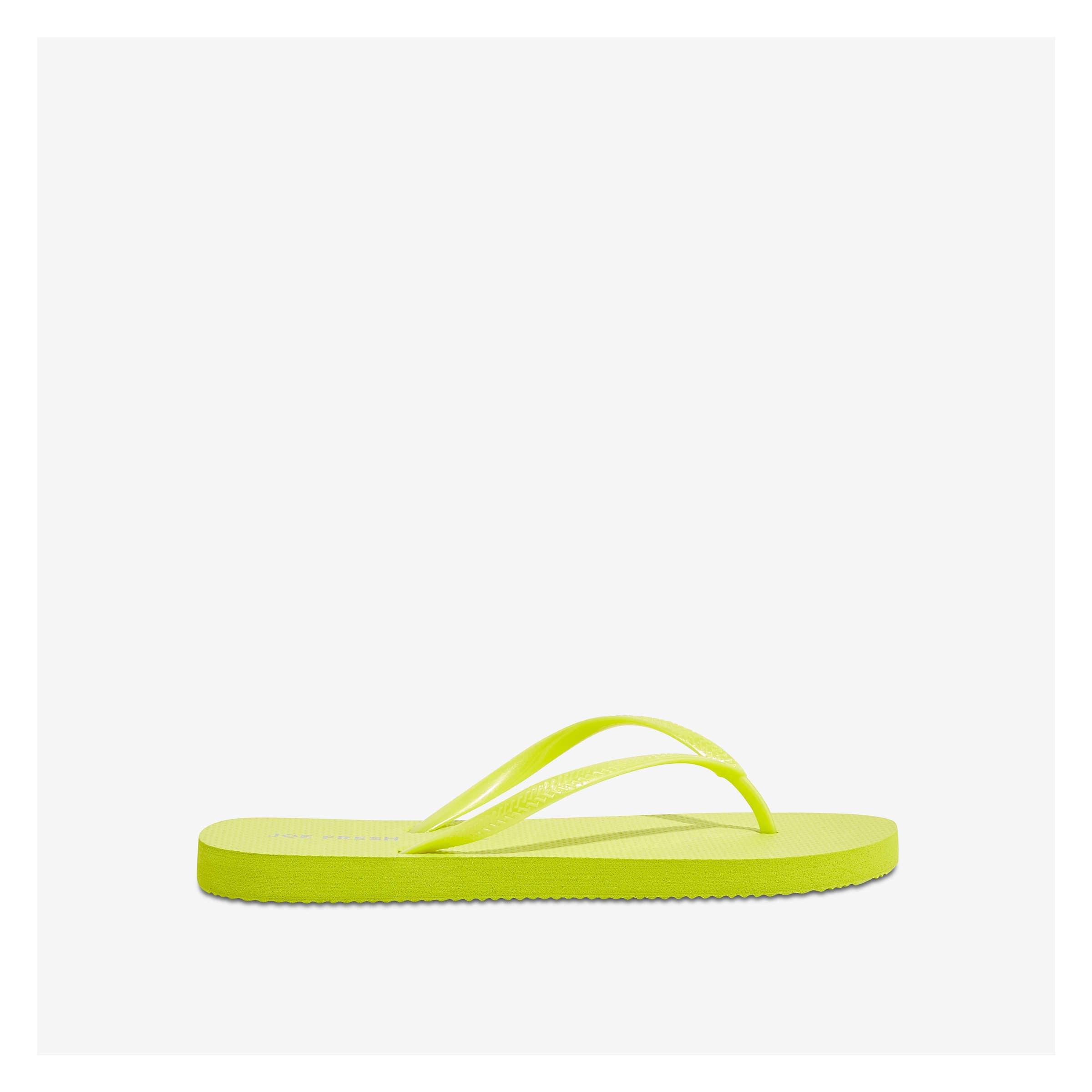 2c77cce18c6 Flip Flops in Dark Neon Green from Joe Fresh
