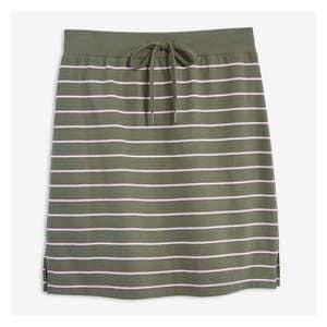 eea2067973b6 Stripe Drawstring Waist Skirt