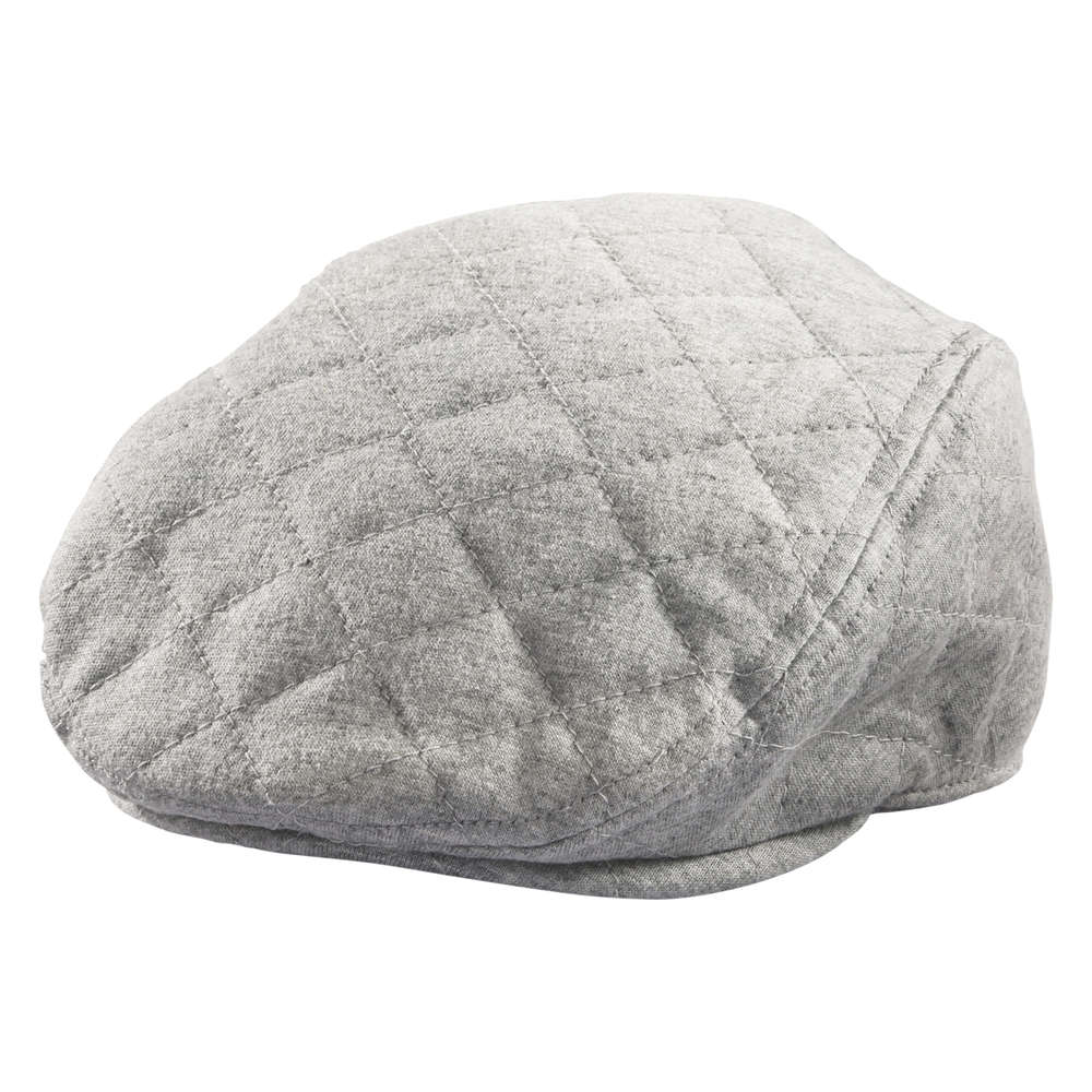 Baby Boys  Quilted Cabbie Hat in Grey Mix from Joe Fresh d07244f7bee