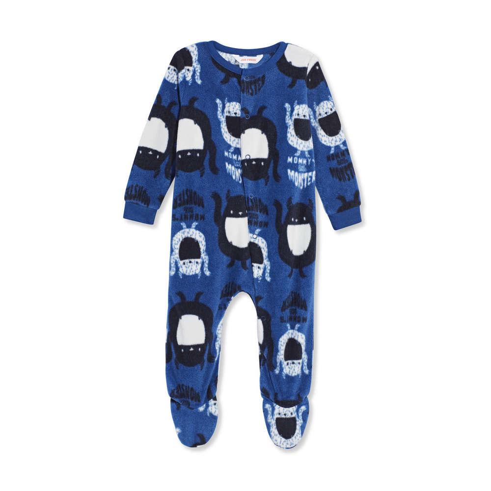 Baby Boys  Fleece Sleeper in JF Midnight Blue from Joe Fresh fa847b2ab