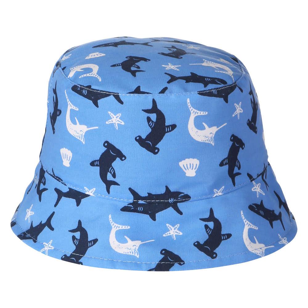 3473451e Baby Boys' Reversible Bucket Hat in Blue from Joe Fresh