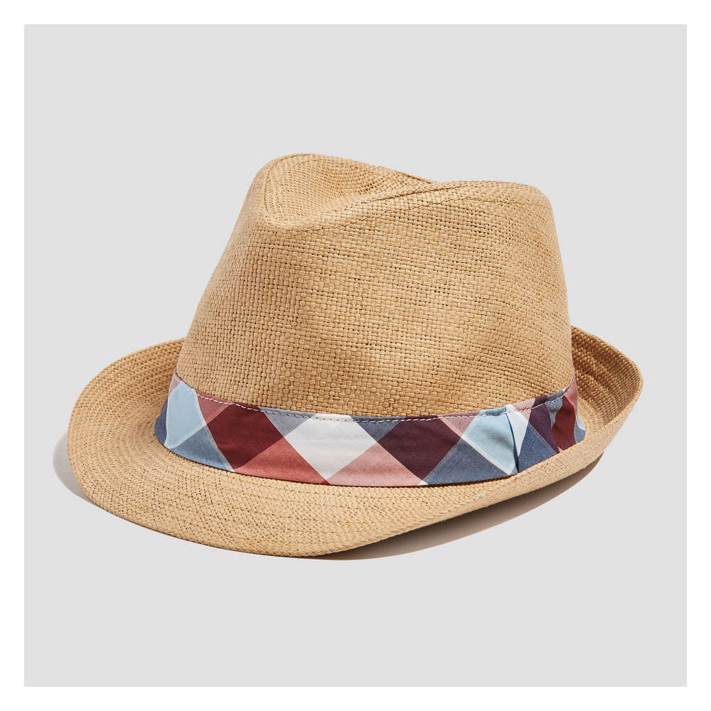 2e06a8083fe Baby Boys  Straw Fedora in Natural from Joe Fresh