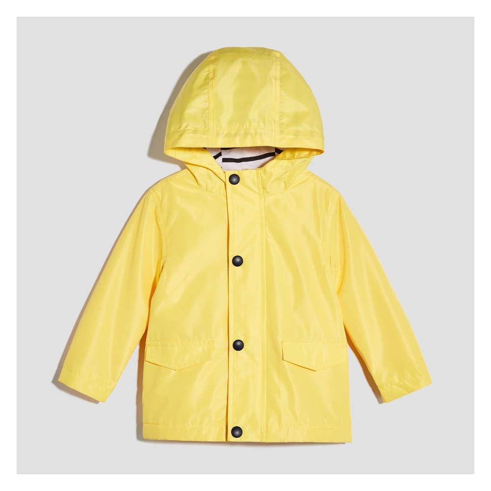 44ff8be2649ed Baby Boys  Rain Jacket in Yellow from Joe Fresh