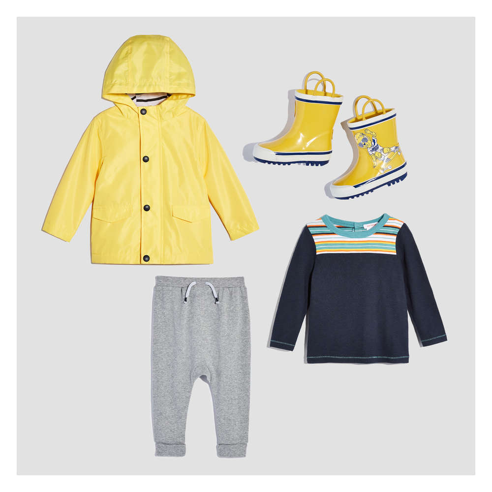 63a093f19 Baby Boy Rainy Day Essentials Box in Yellow from Joe Fresh