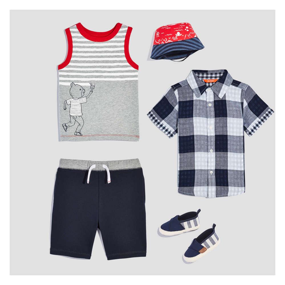 9cbcc16d2805 Baby Boy Summer Prep Box in JF Midnight Blue from Joe Fresh