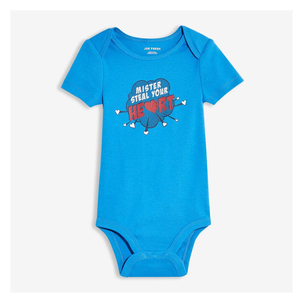 d7e82ee5c8 Baby Boys' Graphic Bodysuit in Sky Blue from Joe Fresh
