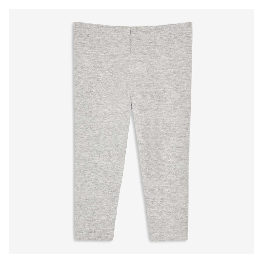 136d070cb Baby Girls' Essential Legging in Light Grey Mix from Joe Fresh
